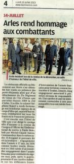 La Provence – 15/07/2013