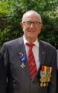 Michel Serves, Lieutenant (h), Officier de la Légion d'Honneur, Médaille Militaire, Membre d'honneur des Harkis de Mas-Thibert <br />